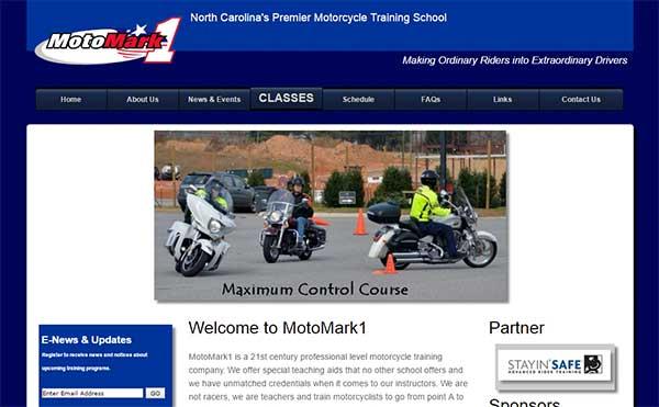 MotoMark 1 Website